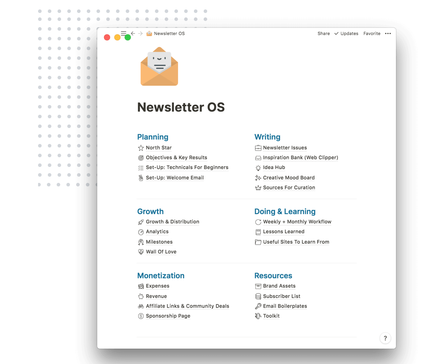 Newsletter OS Overview